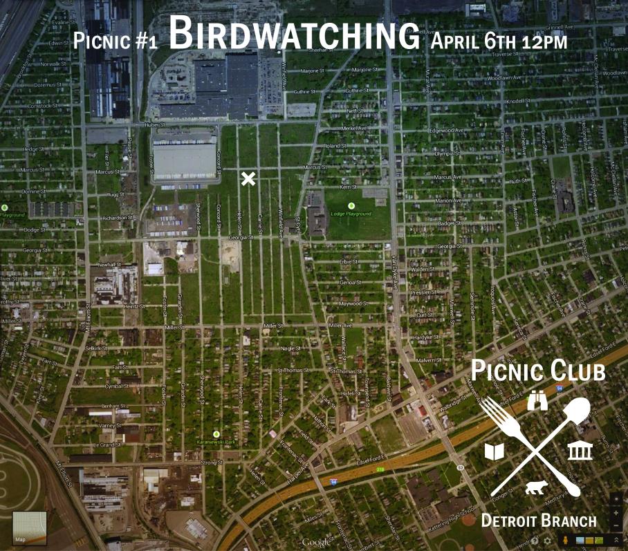 Birwatching map