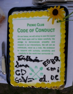 Conduct cake