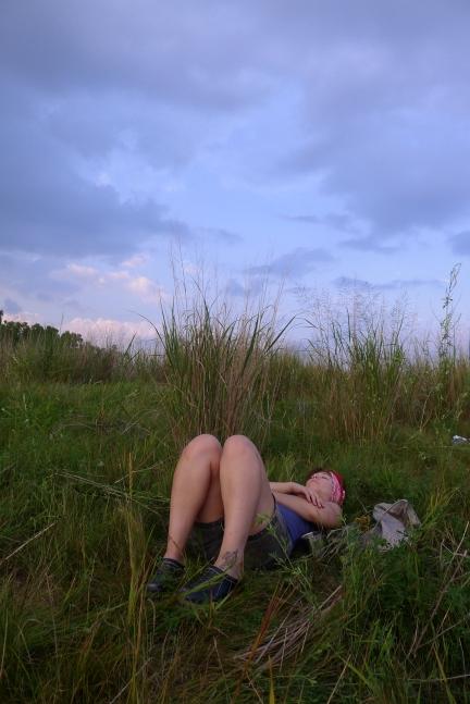 Alissa resting