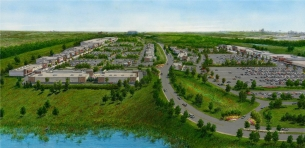 Fairlane Green Redevelopment rendering